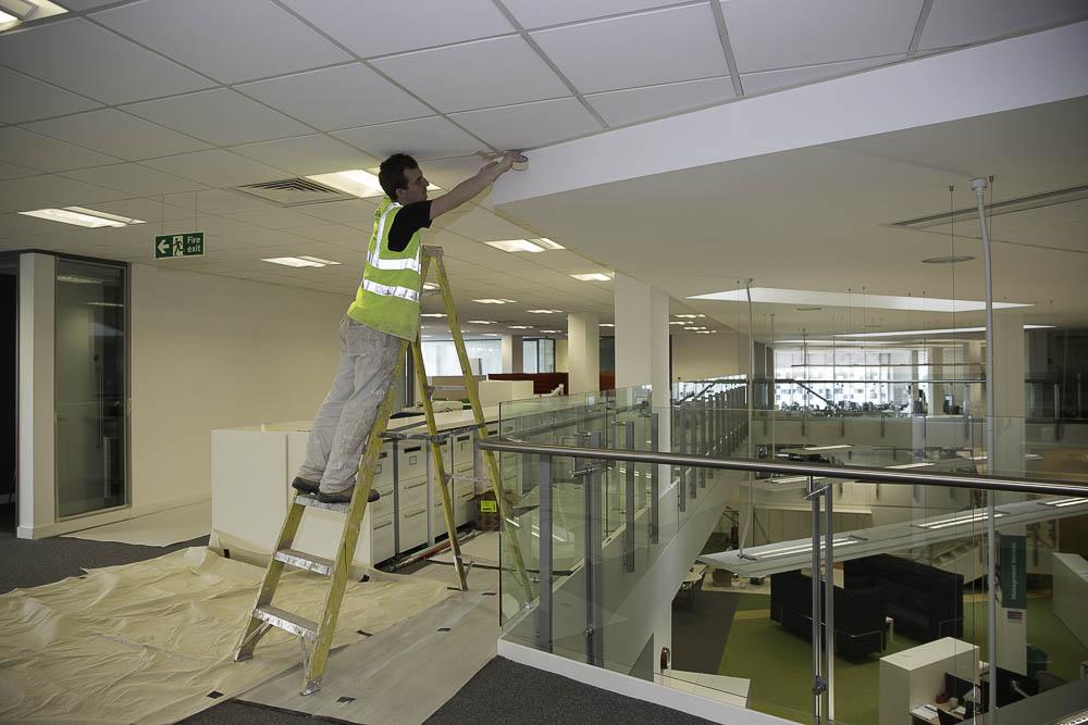 London Builders, Tottenham Newlon Head Offices Refurbishment 3B