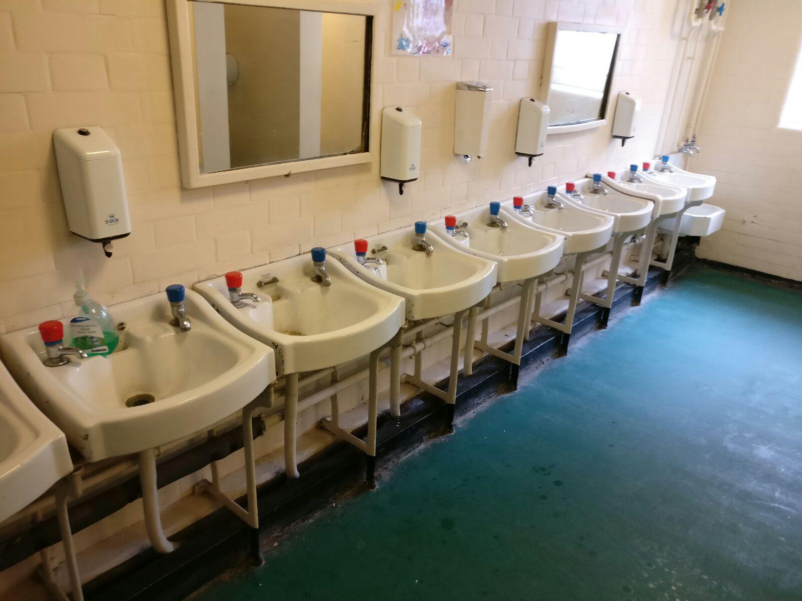 School Bathroom Refurbishment Holloway 04