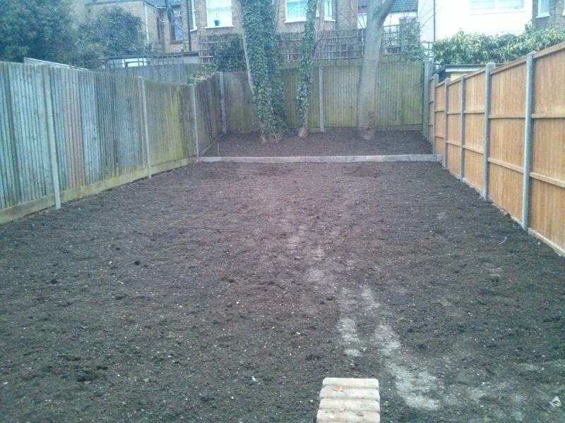 Builders, Muswell Hill, London Garden renovations & repairs 02