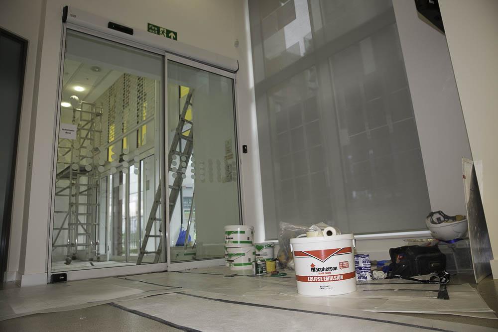 London Builders, Tottenham Newlon Head Offices Refurbishment 01