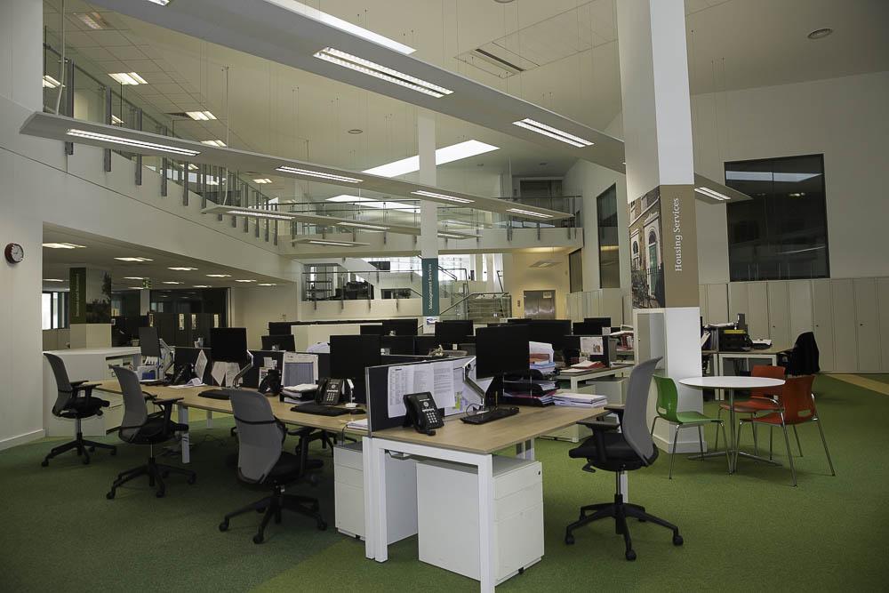 London Builders, Tottenham Newlon Head Offices Refurbishment 12