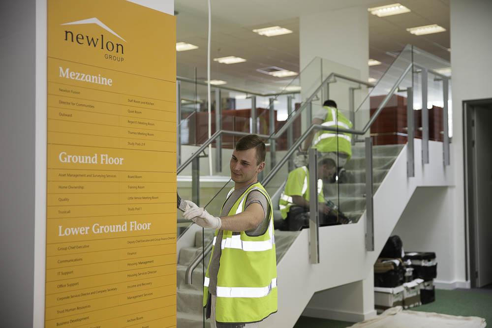 London Builders, Tottenham Newlon Head Offices Refurbishment 13