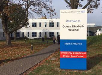 Queens Elizabeth Hospital in London