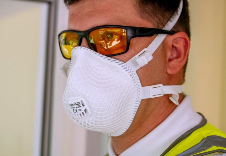 PHOTO: raam staff with PPE